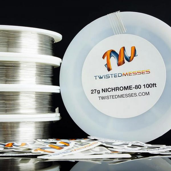 Twisted Messes Nichrome 80 Wires - Custom Vapes UK