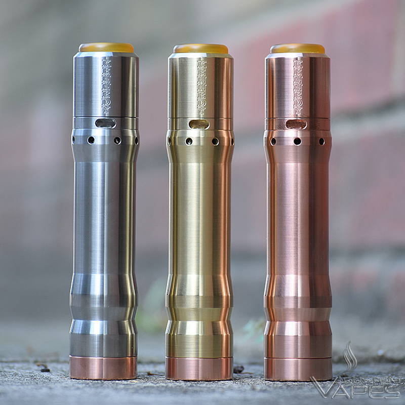 The Vindicator Mod RDA Set 21700 20700 By Kennedy Vapor